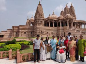 Visit to Swaminarayan temple