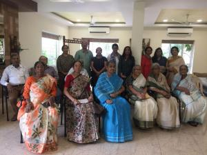 Senior Citizen Day Celebration  at Apnalay